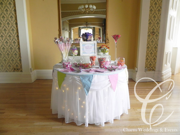 Candy Buffet for weddings or events
