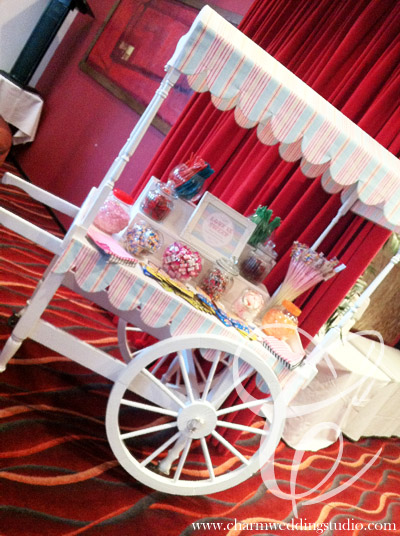 Candy Cart for weddings or events