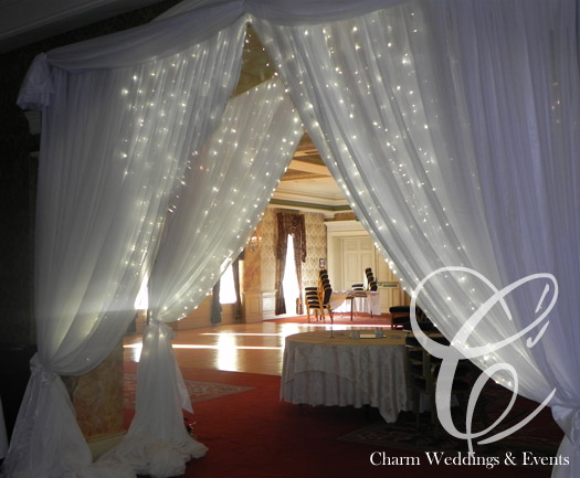 Fairy Light Backdrop Room Draping Entrance Drapes